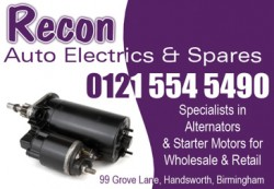 recon autoelectrics