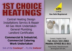 1st choice heatings