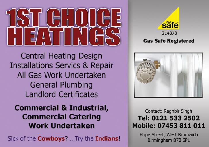 1st choice heatings