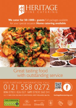 Heritage fine catering