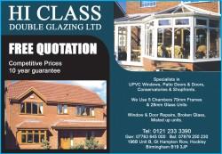 Hi Class double glazing