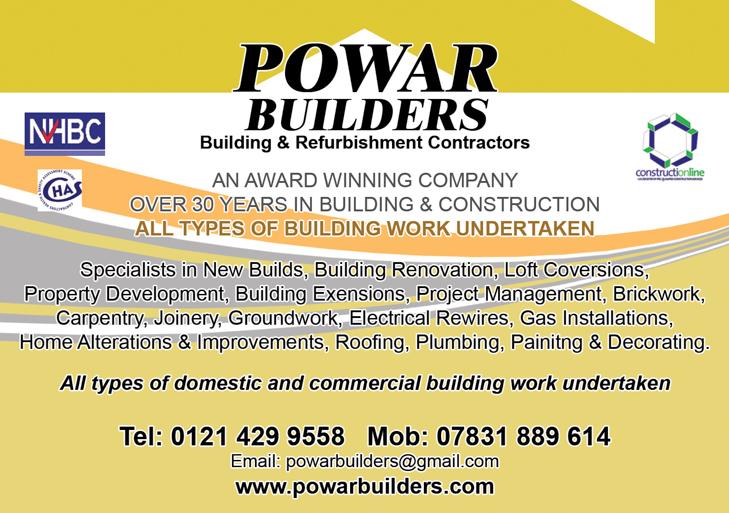 POWAR builders