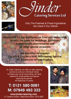 jinder catering services