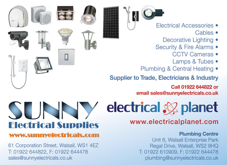 sunny electrical supplies