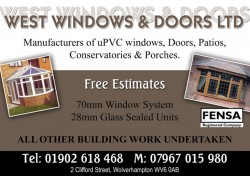 west windows & doors ltd