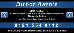 direct auto's