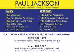 paul jackson Estate Agents