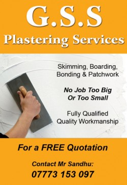 GSS plastering services