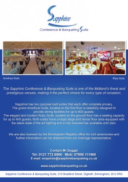 Sapphire Banqueting 2015a