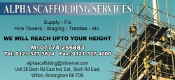 alpha scaffolding services