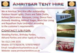 amritsar tent hire