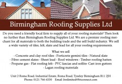 birmingham roofing supplies