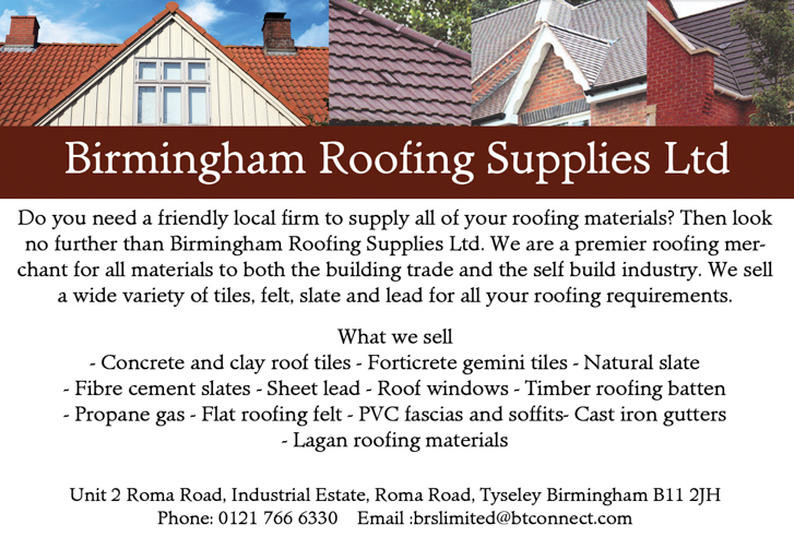 Birmingham Roofing Supplies Msj Asian Directory