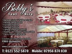 bobbys tent hire