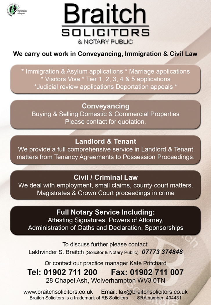Asian immigration solicitors