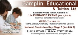 camplin educational & tuition ltd