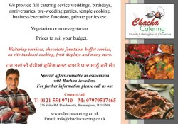 Chacha catering