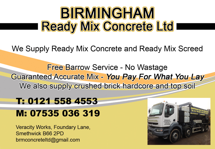 birmingham ready mix concrete