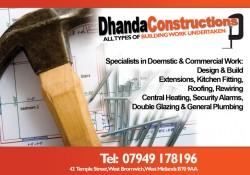 dhanda constructions