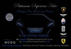 Platinum Supercar Hire