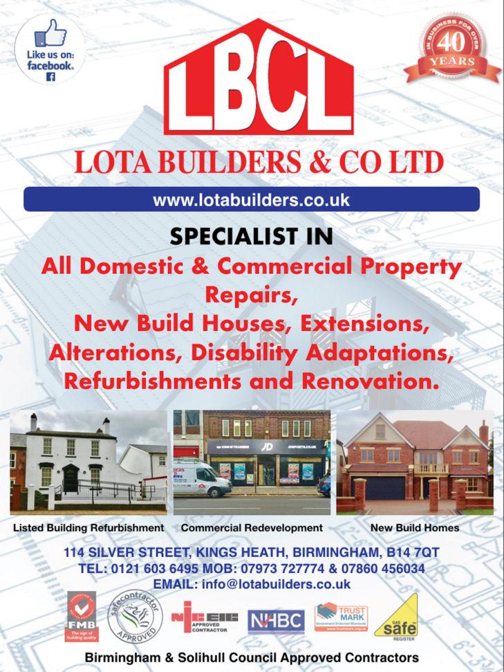 Lots Builders & Co Ltd