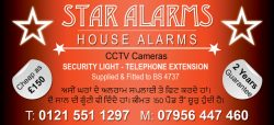 star Alarms