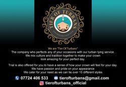Tier of turbans